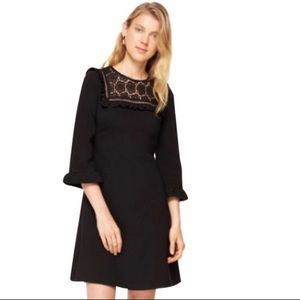 NWT Kate Spade Lace Inset Dress